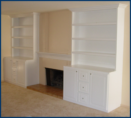White Cabinets After