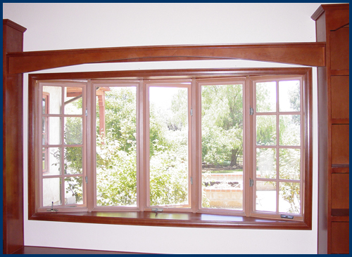 Beech Library Window Surround