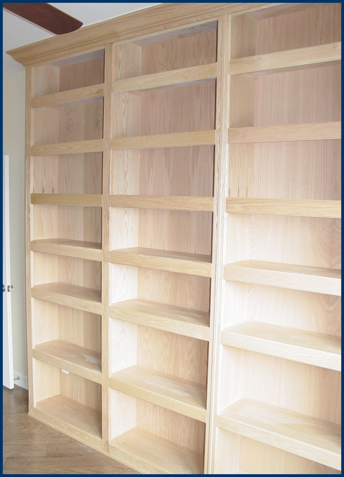 Oak Bookcase View 3