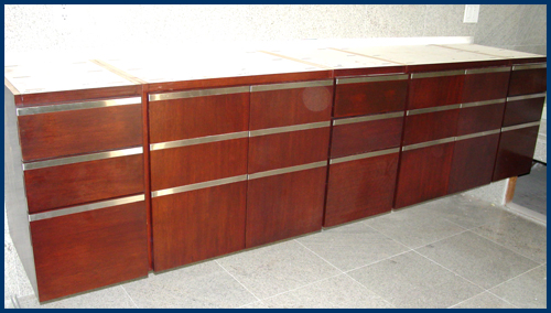 Brazilian Cherry Cabinets After View 1