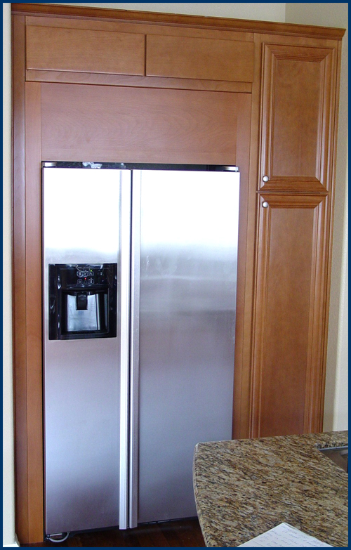 Beech Refrigerator Surround