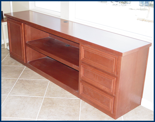 Beech Window Cabinet