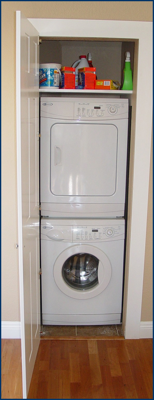Laundry with Door Open