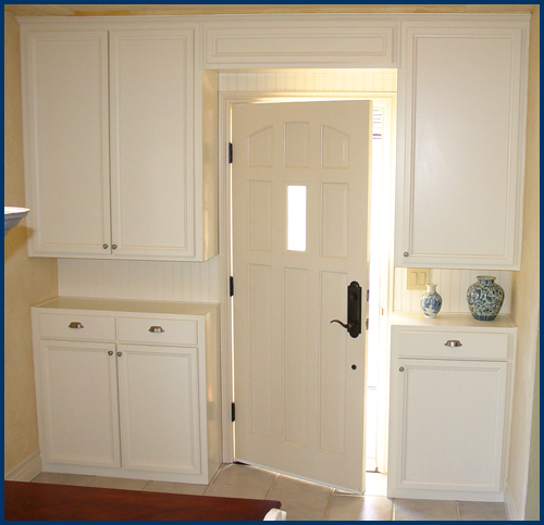 White Base & Upper Cabinet