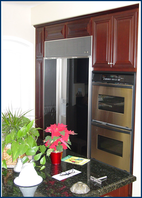 Cherry Refrigerator Surround
