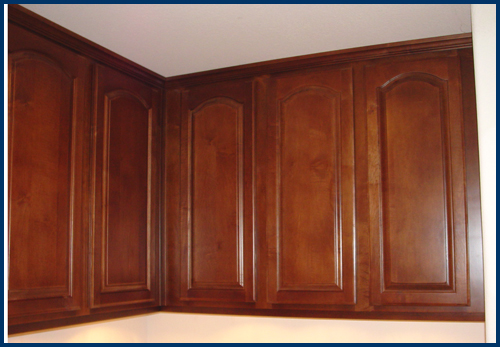 Maple Upper Cabinets