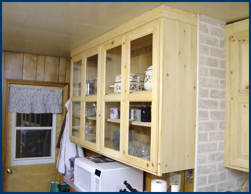 Pine Kitchen Cabinets 4